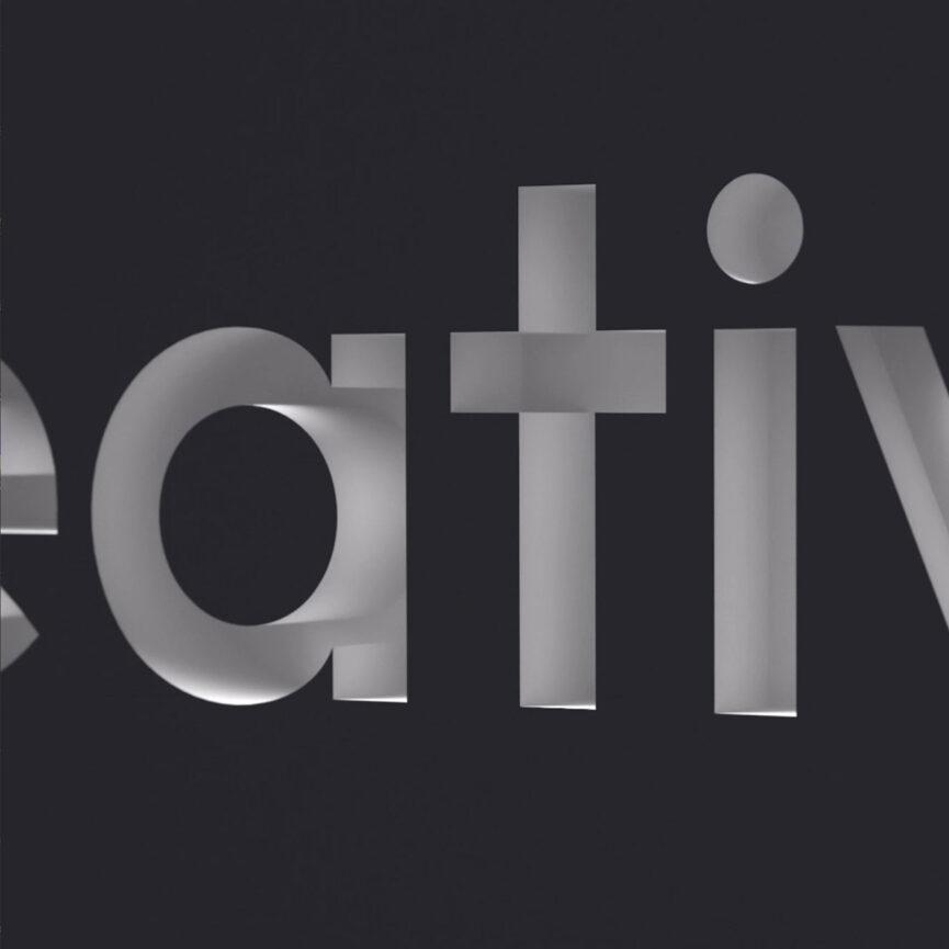 CreativeStyle GmbH 3D Logoschriftzug