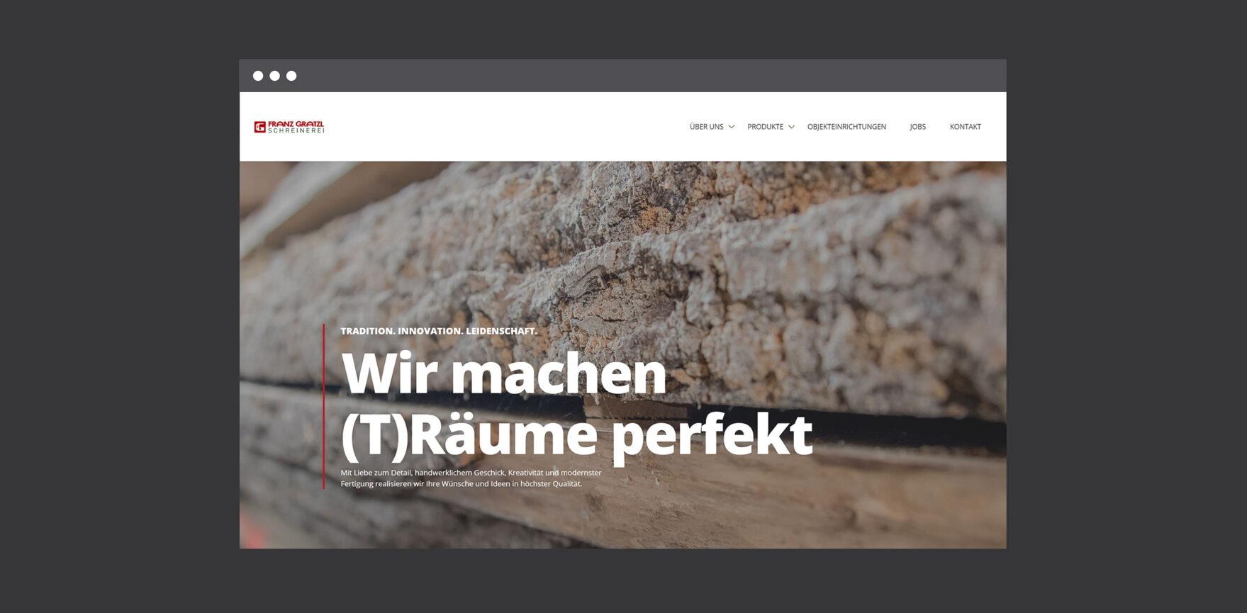 Startseite Franz Gratzl Desktopversion