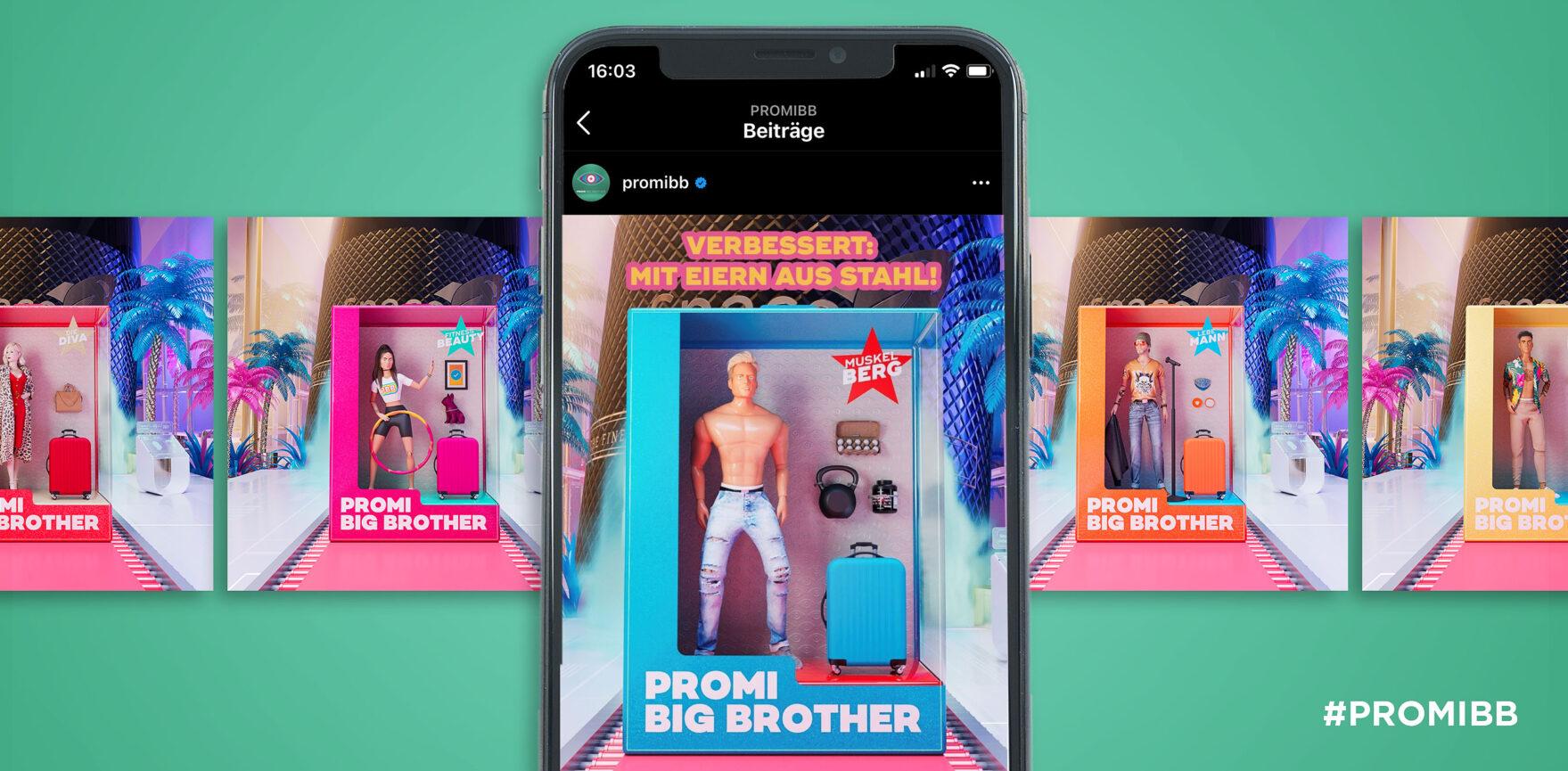 Social Media Post Promi Big Brother