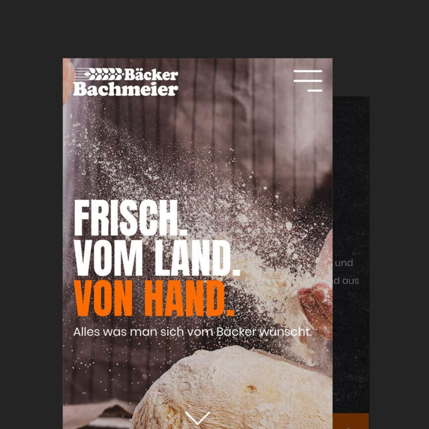 Startseite mobil Baeckerei Bachmeier