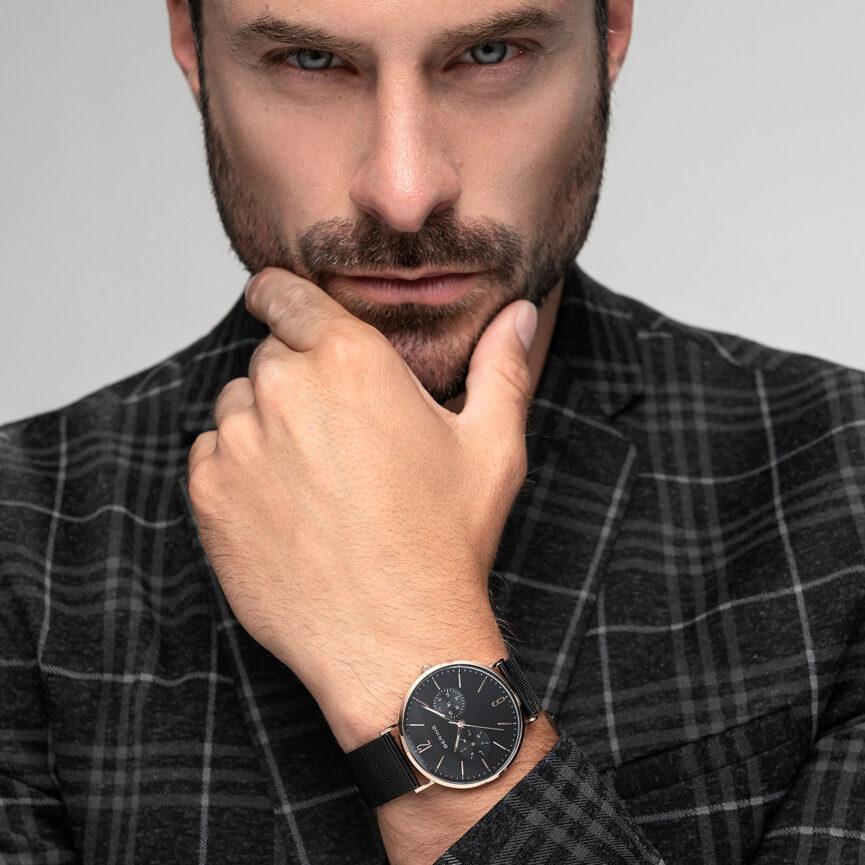 Bering Uhren Referenz Portrait Mann