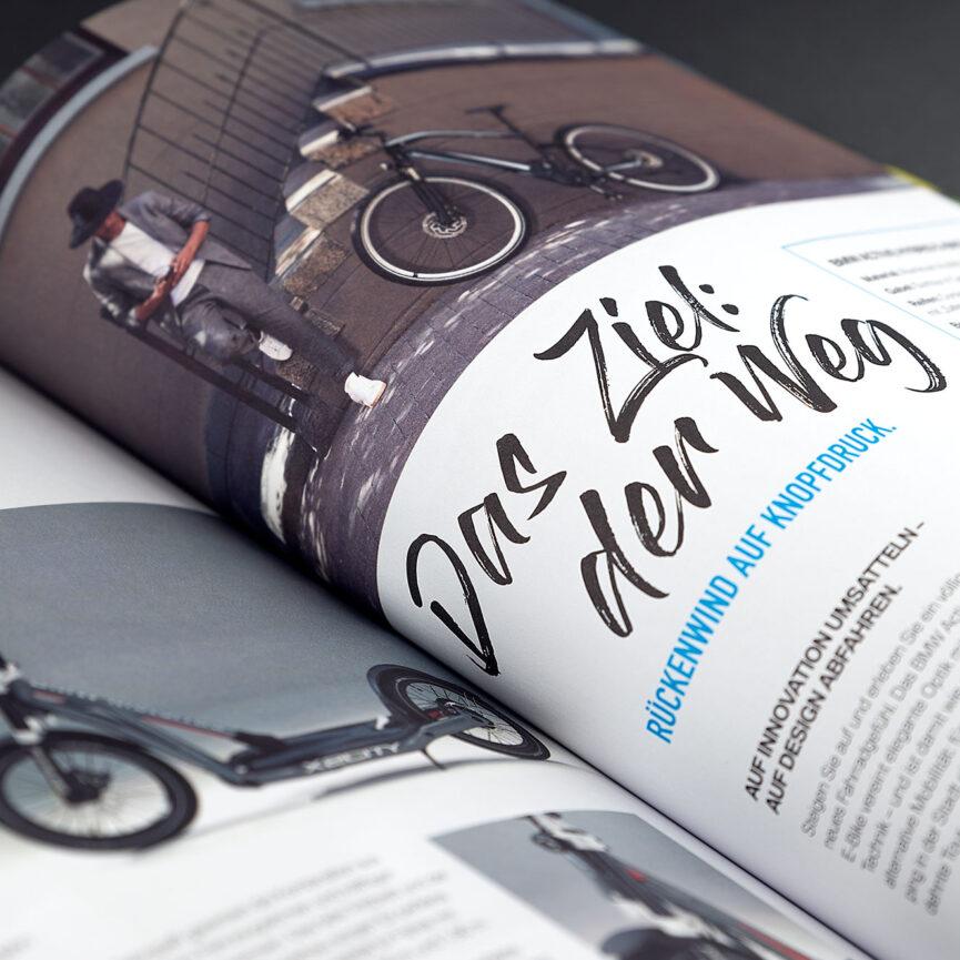 BMW Referenz i3 Magazin Das Ziel: der Weg