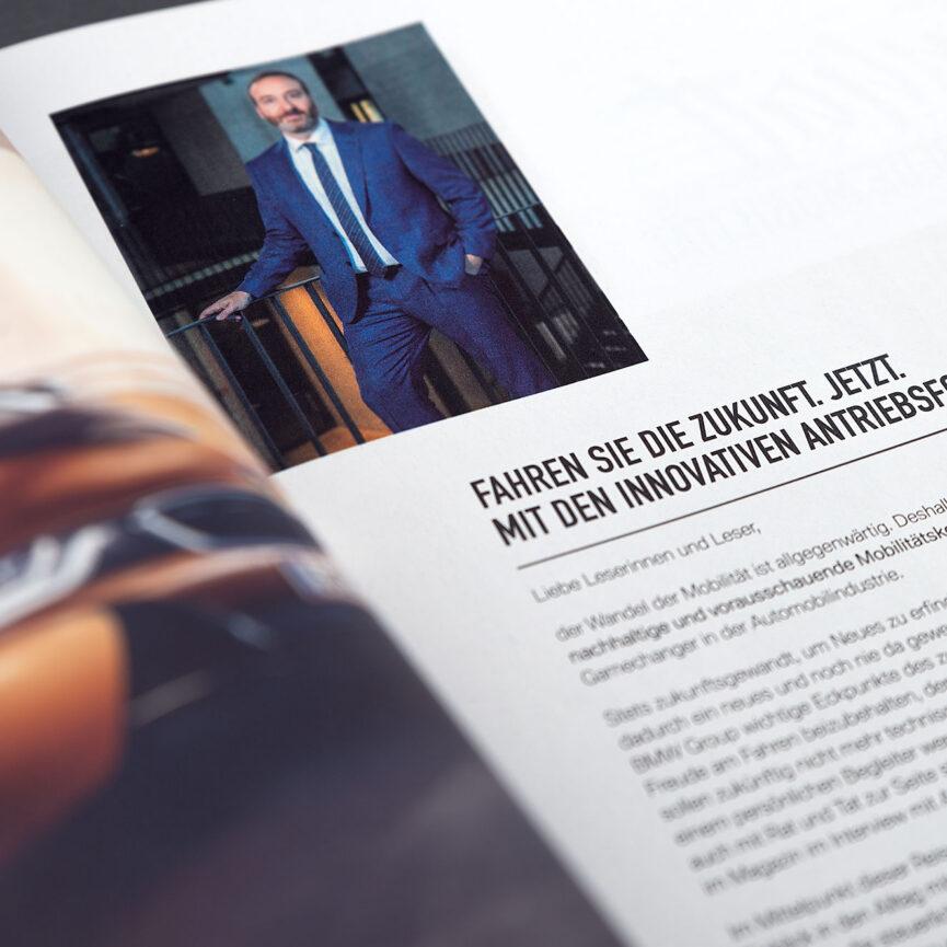 BMW Referenz i3 Magazin Einleitung
