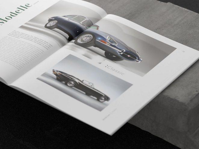British Cars Imagebroschüre Innenseite