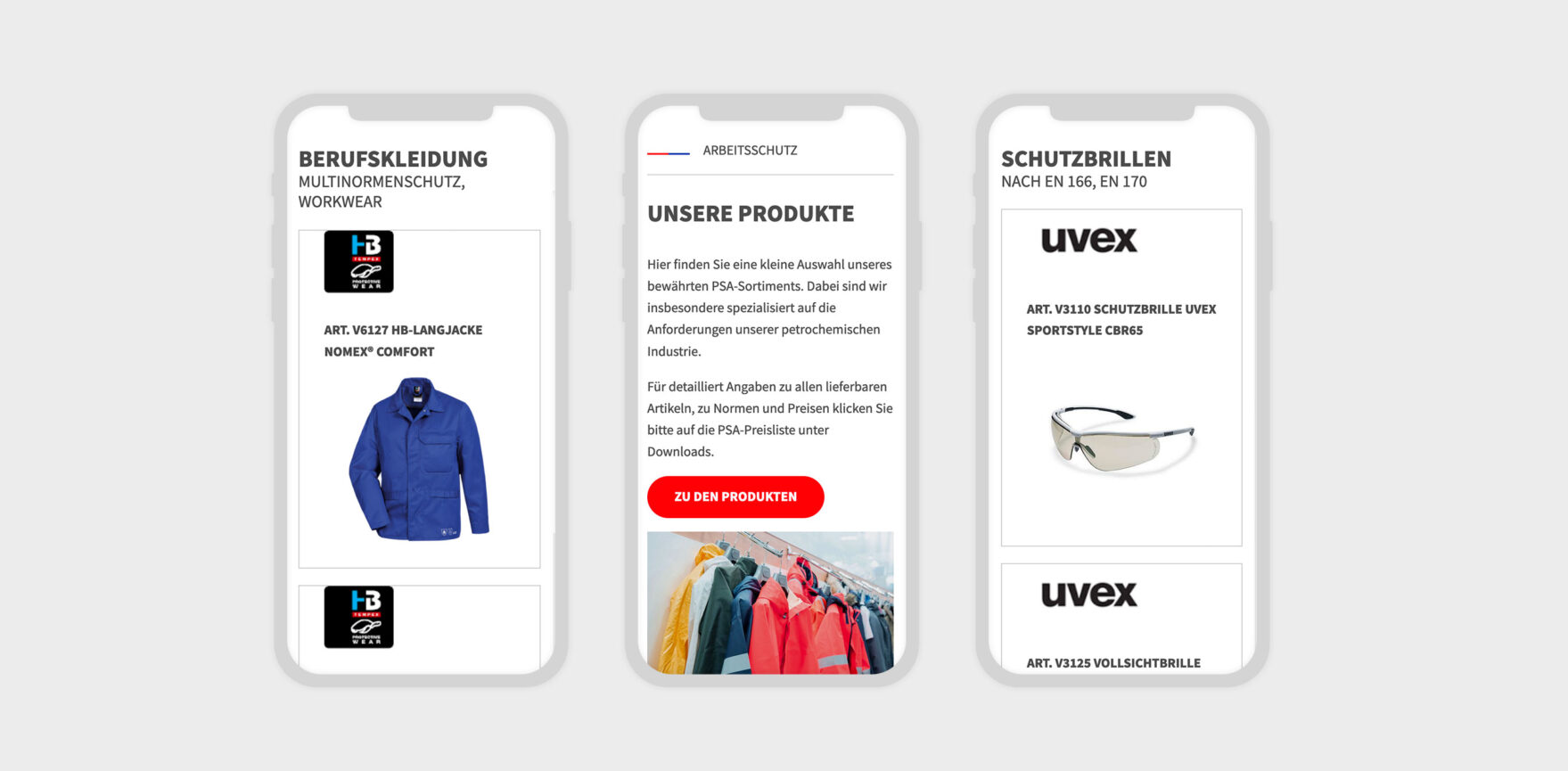 Keith Artex Webdesign mobile