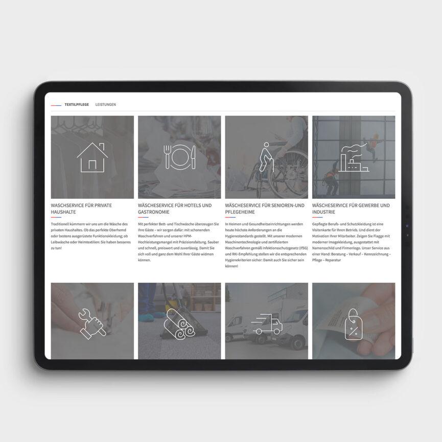 Keith Artex Webdesign Leistungen