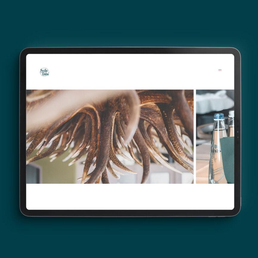 Unterseite Raeumlichkeiten - Heide Volm Website