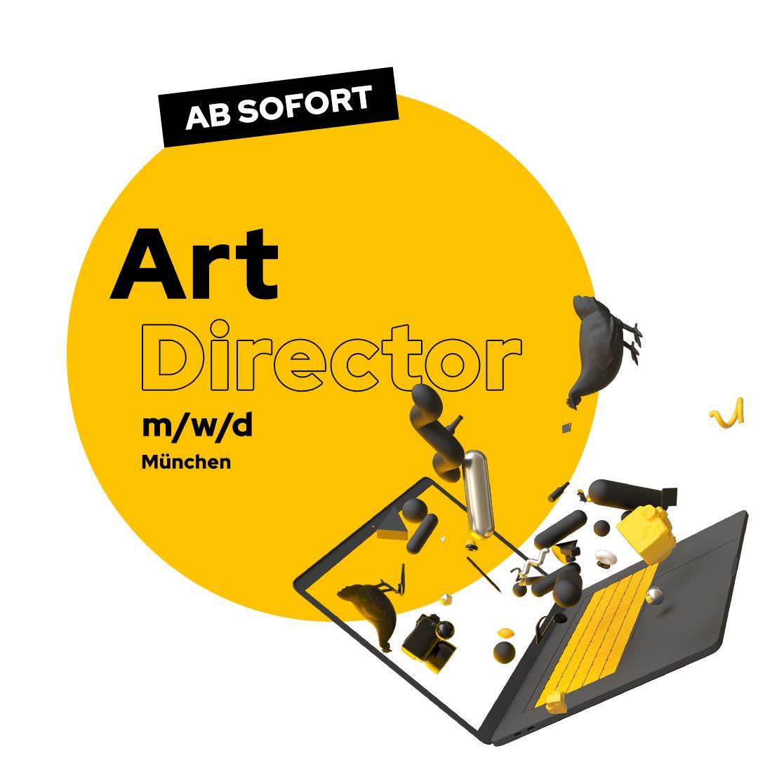 Stellenanzeige Art Director Muenchen