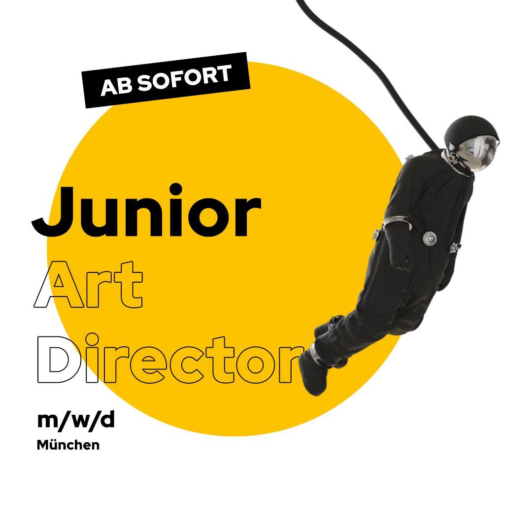 Stellenanzeige Junior Art Director