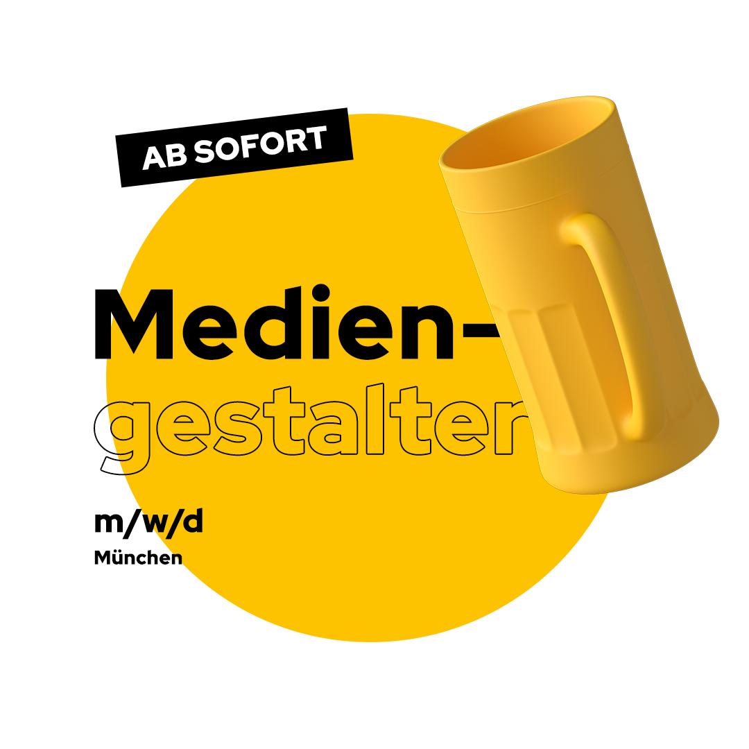Stellenanzeige Mediengestalter München