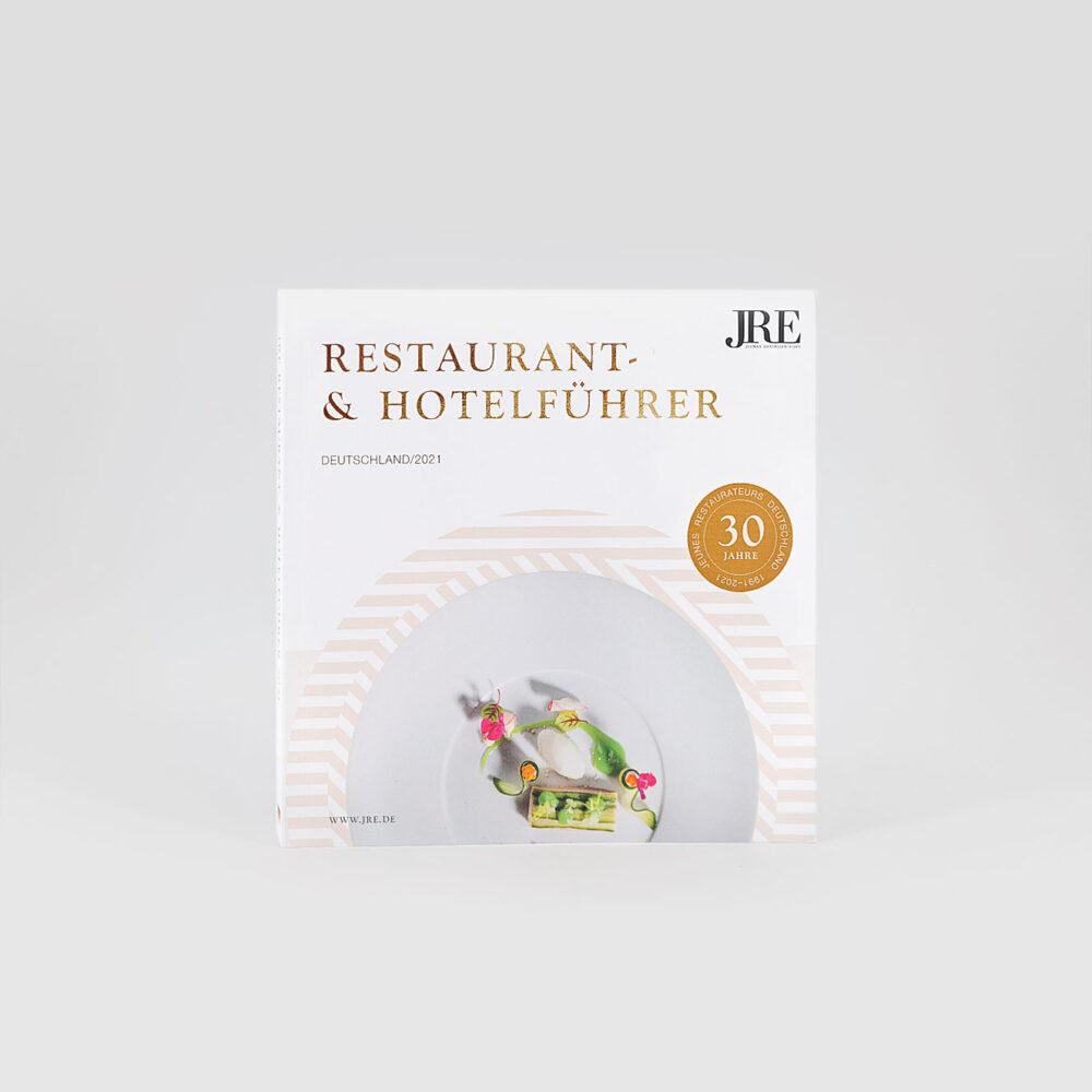 JRE Hotel- und Restaurantführer 2021 Cover