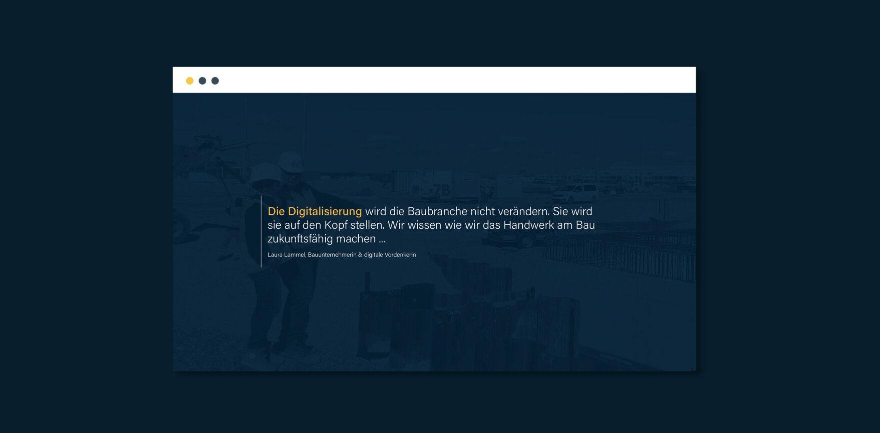 Vorschaltseite Lammel Digital