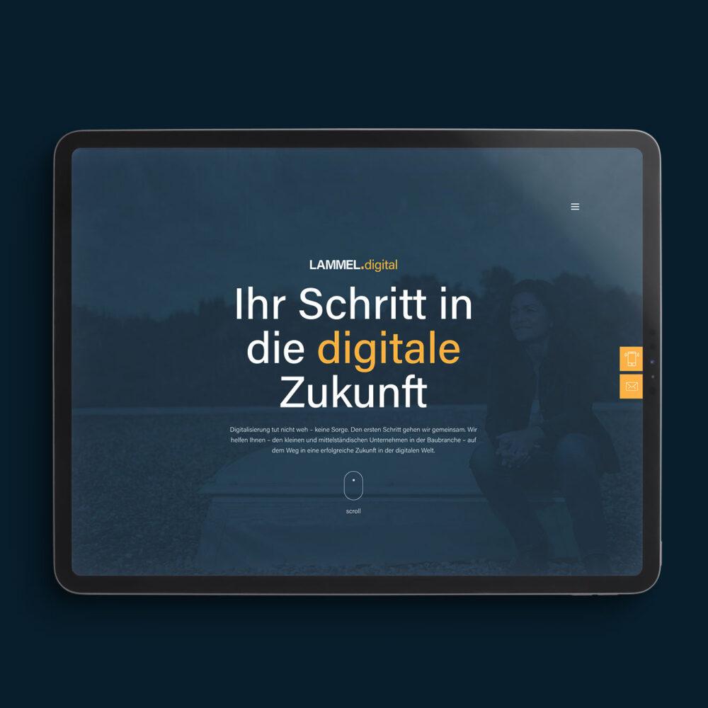 Startseite Lammel digital iPad Version
