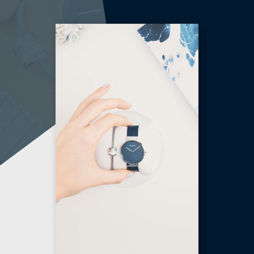 BERING Instagram Story Ads GeschenkSets Uhr und Armband