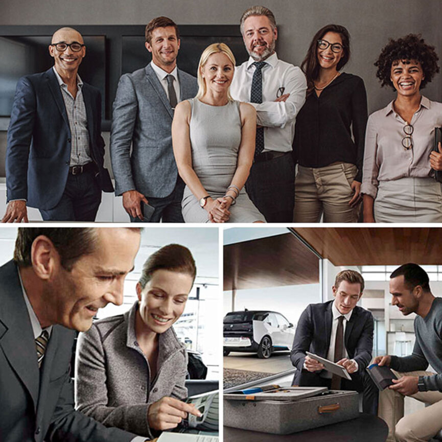 BMW-Karriere Website Relaunch-Team-Zusammenarbeit-Kollegen