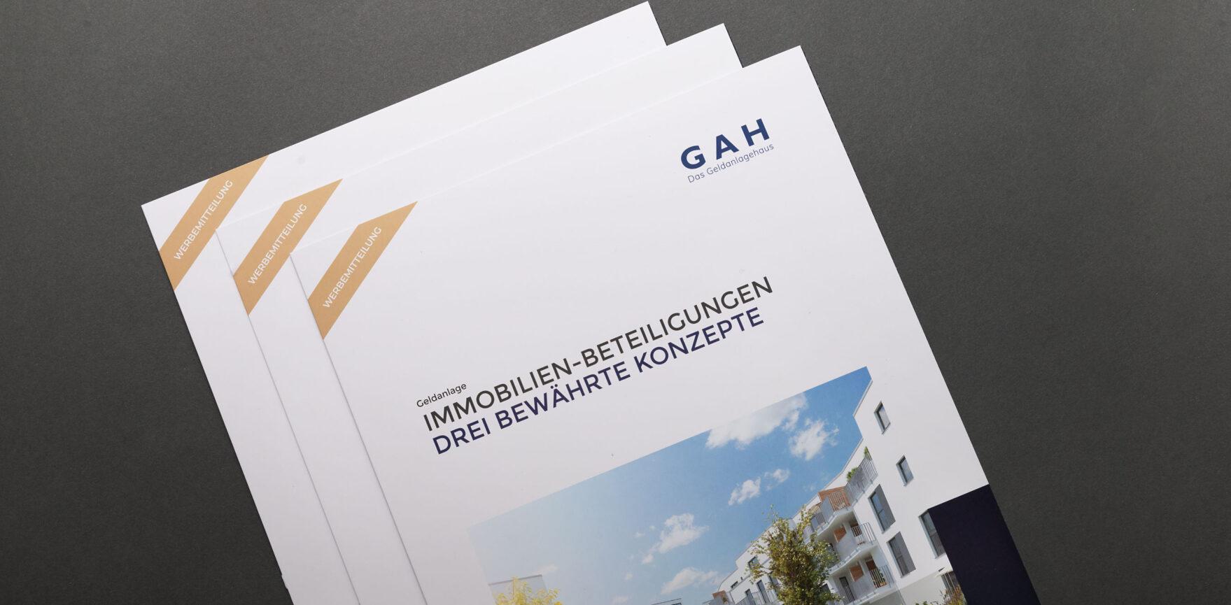 Cover Print Broschuere