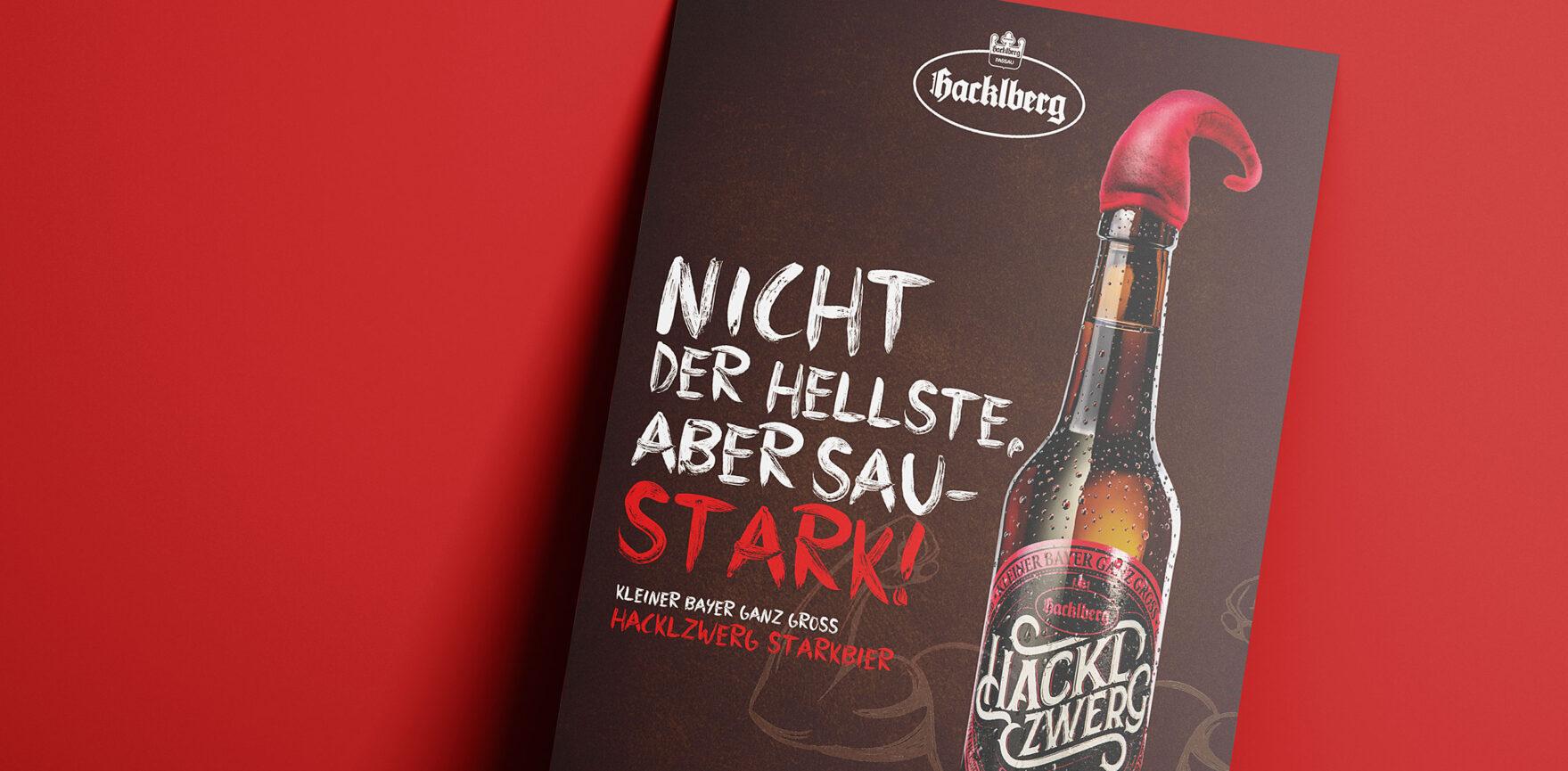 Brauerei Hacklberg - Hacklzwerg Kampagne Flyer