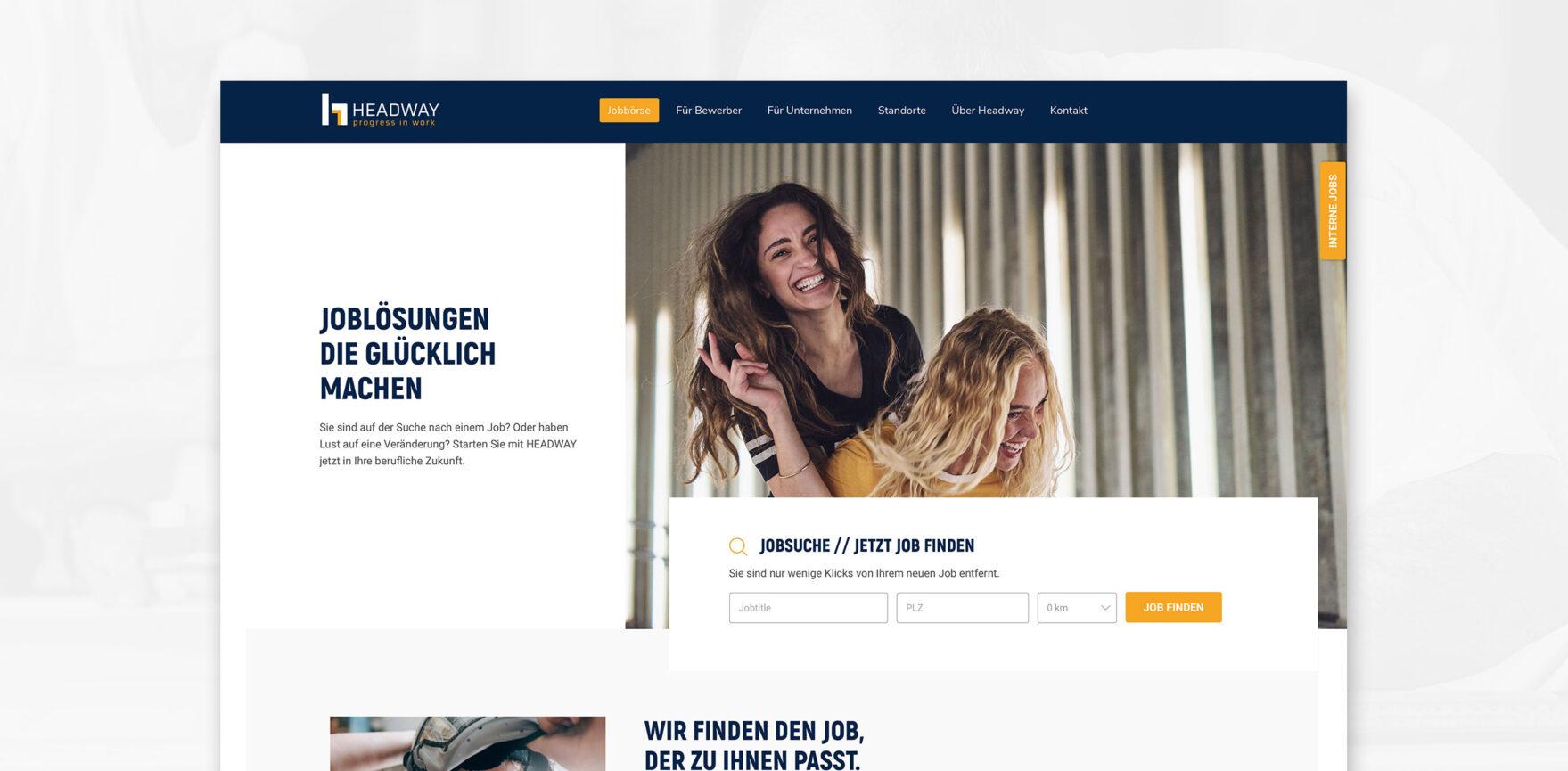Headway Personal Website