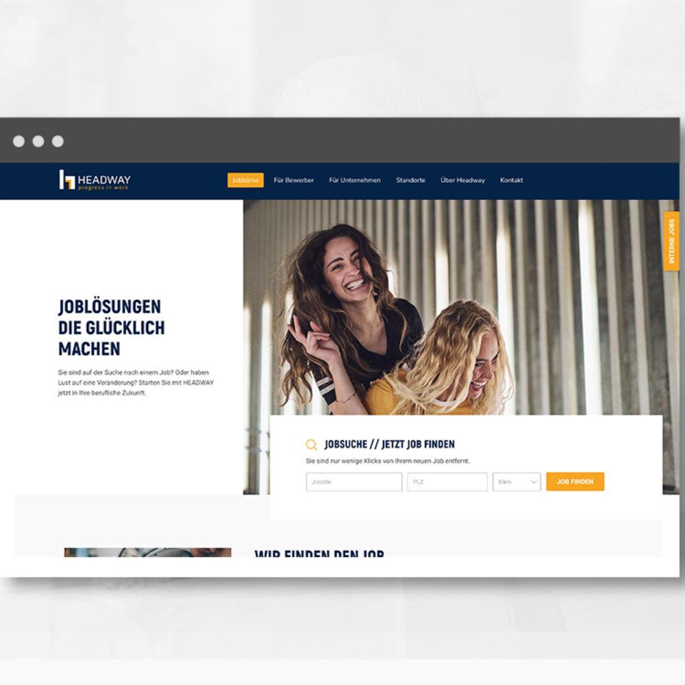 Headway Personal Website Startseite