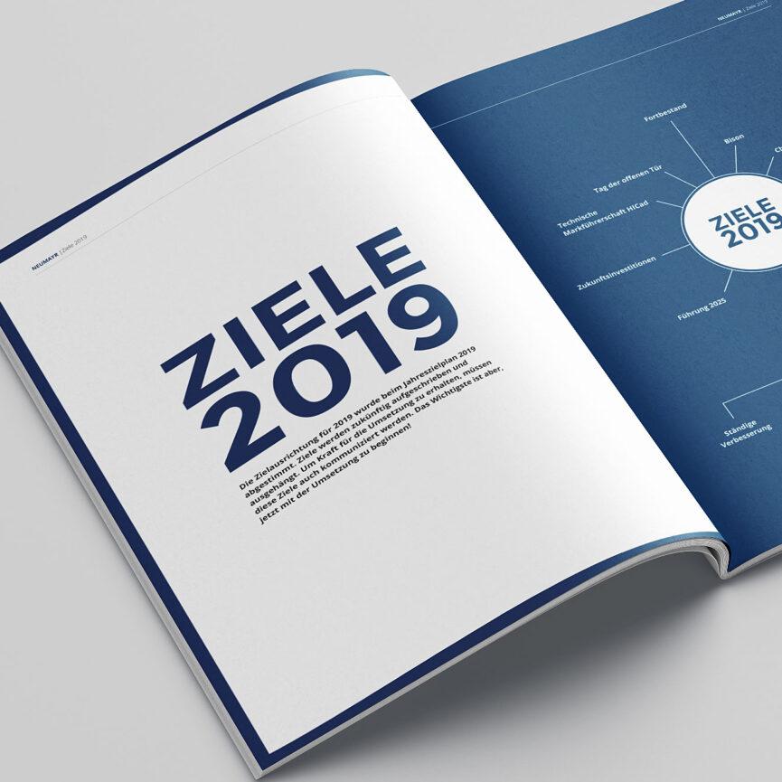 Referenz Jahreszielplan Neumayr Ziele 2019