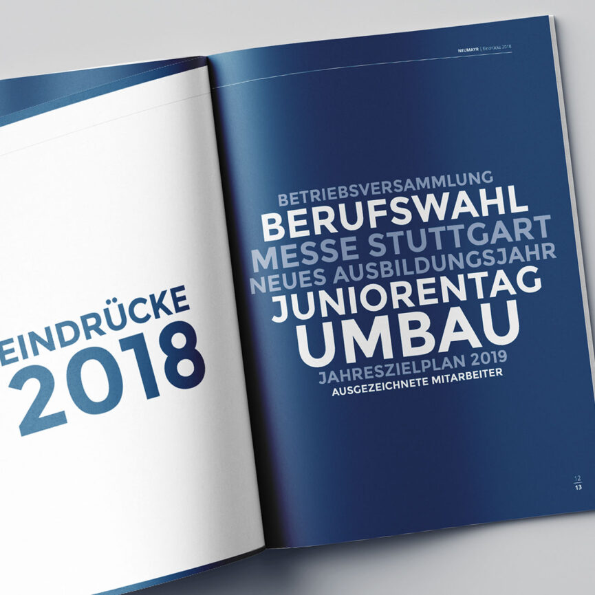Referenz Jahreszielplan Neumayr Eindruecke 2018