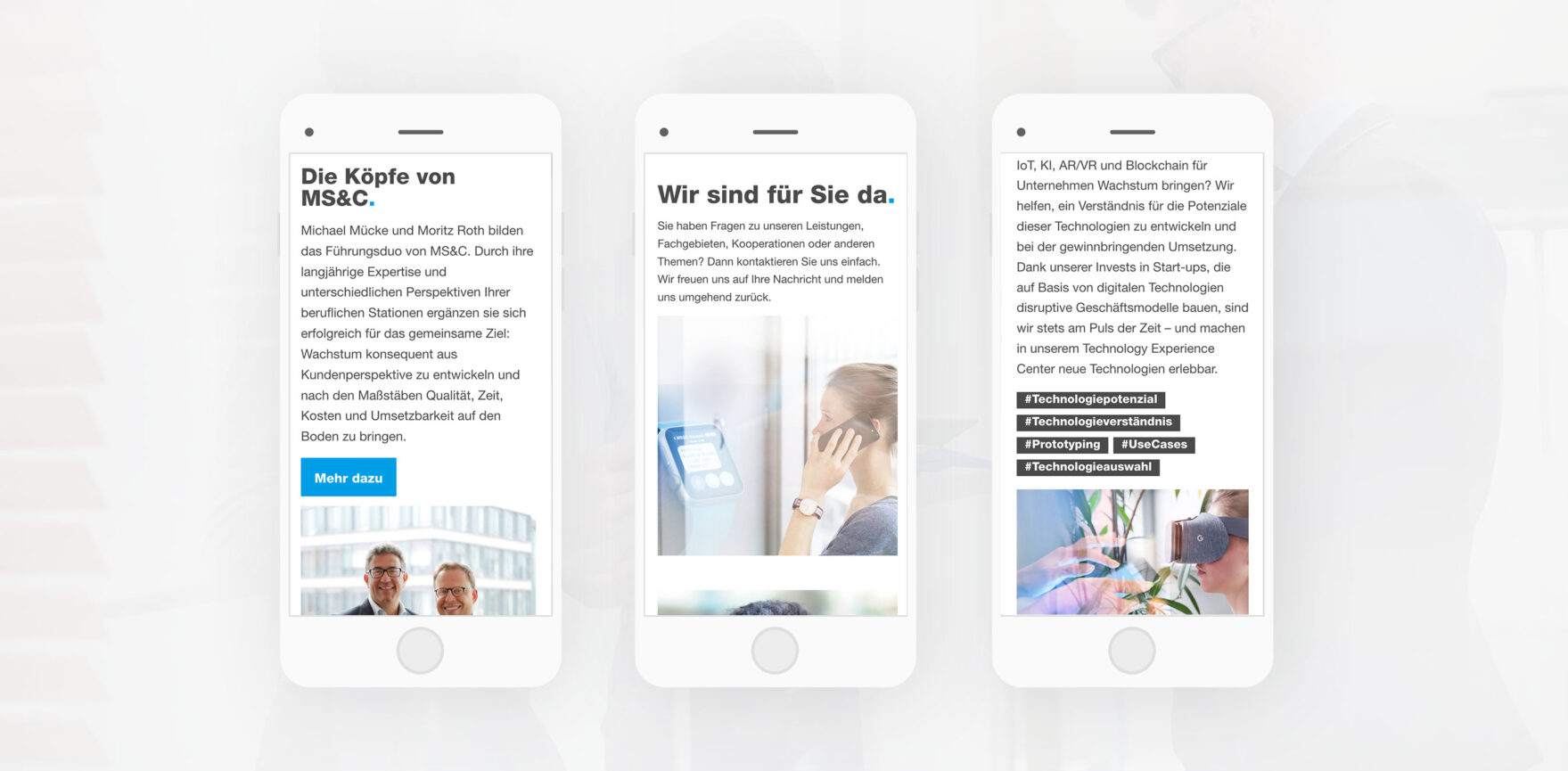 Muecke Sturm Webseite mobil
