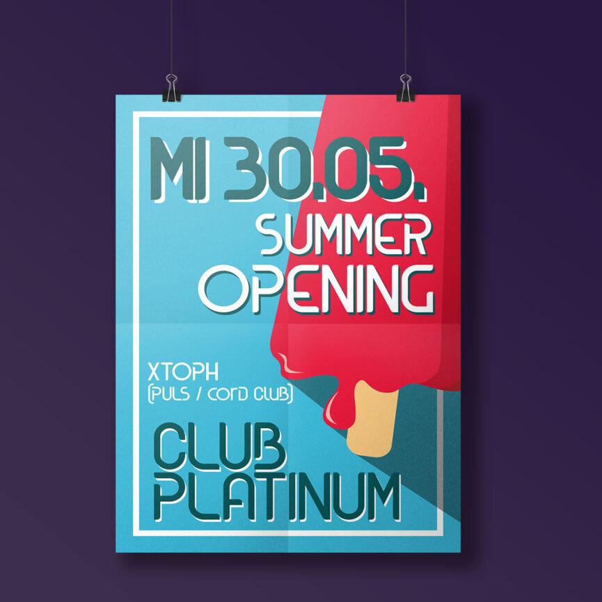 Referenz Club Platinum Poster