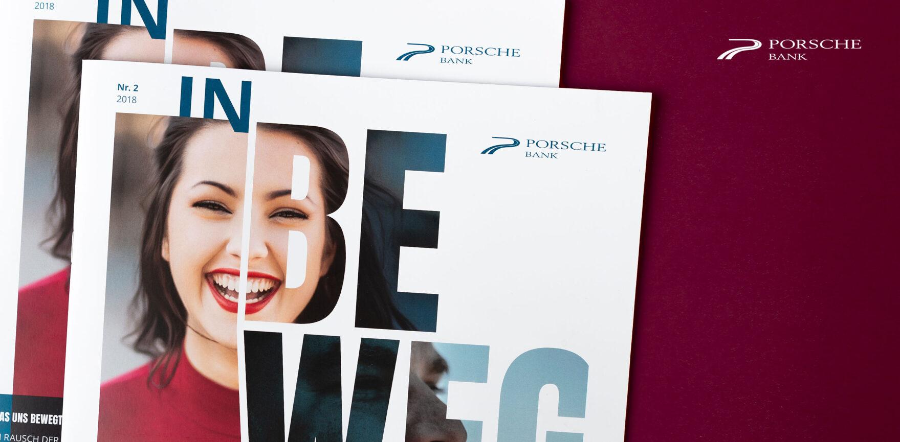 Porsche Kundenmagazin Cover