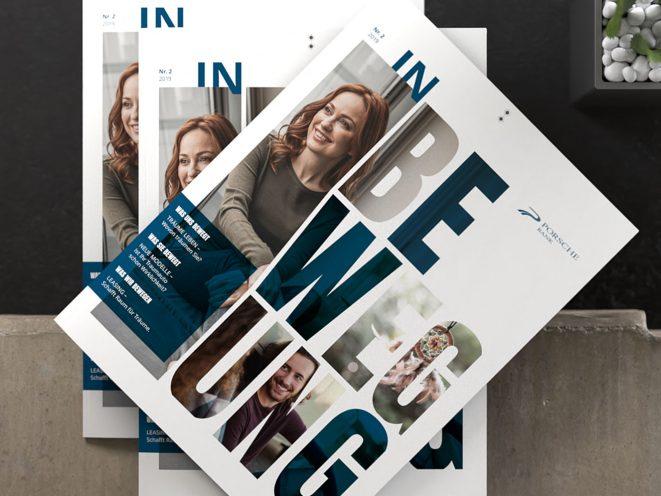 Porsche Bank Cover Imagebroschüre