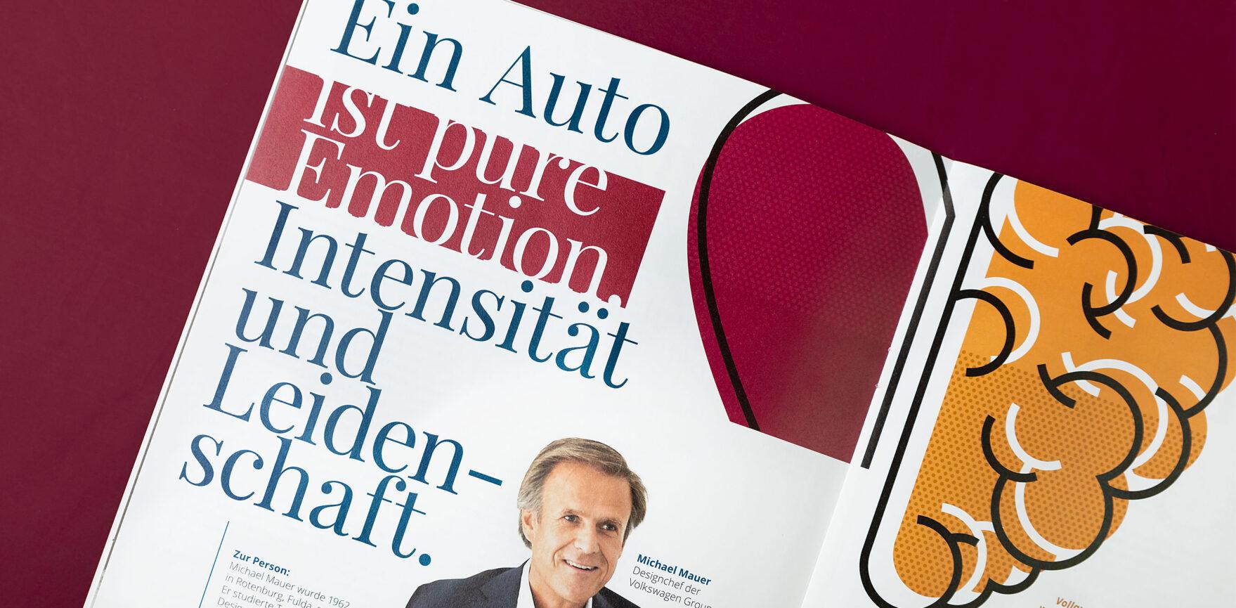 Porsche Kundenmagazin Ein Auto ist pure Emotion