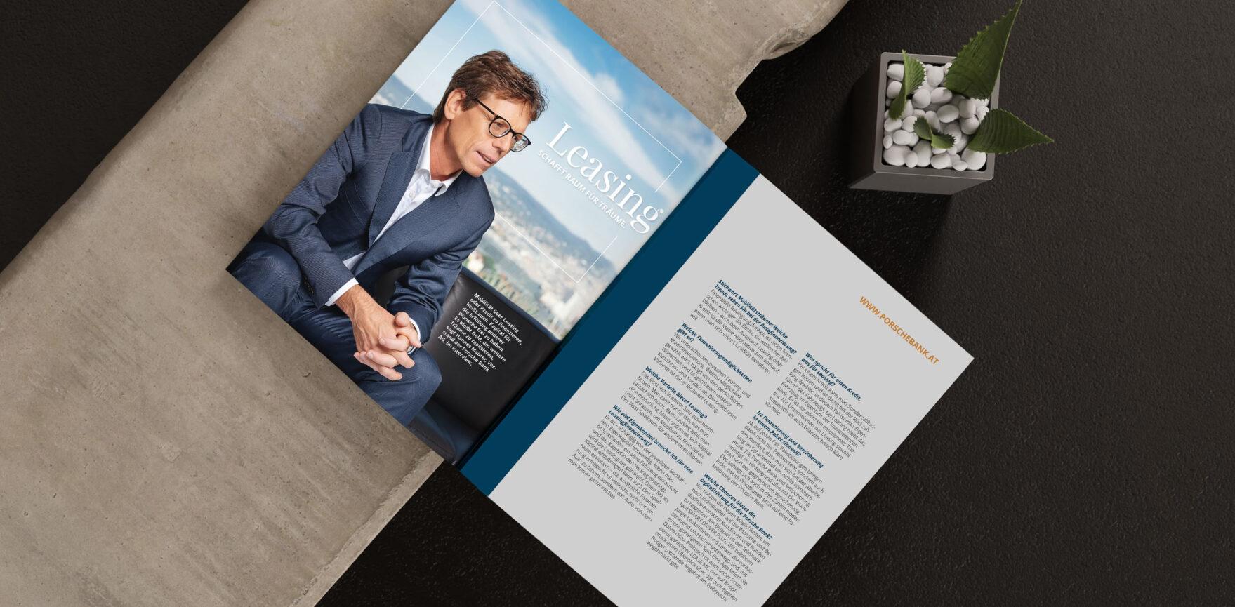 Porsche Bank Cover Imagebroschuere