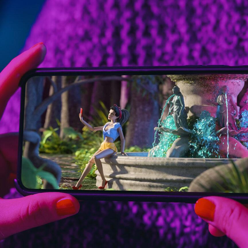 Promi Big Brother 2020 Full-CGI TV Spot auf iPhone