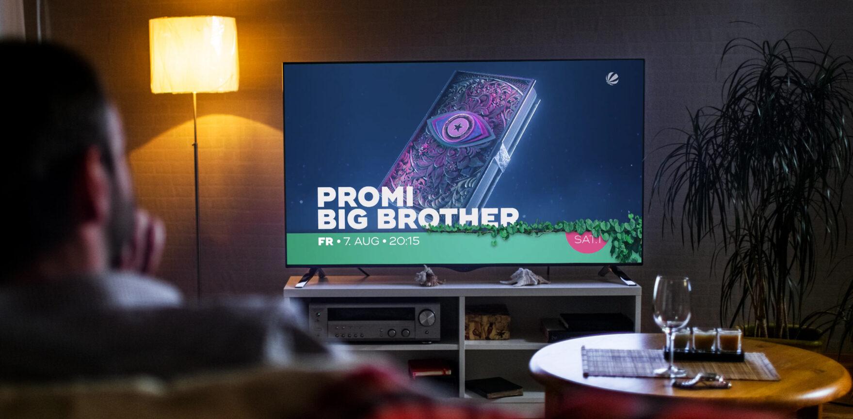 Vorschau TV On-Air Masterspot von dem Sat.1 Format Promi Big Brother