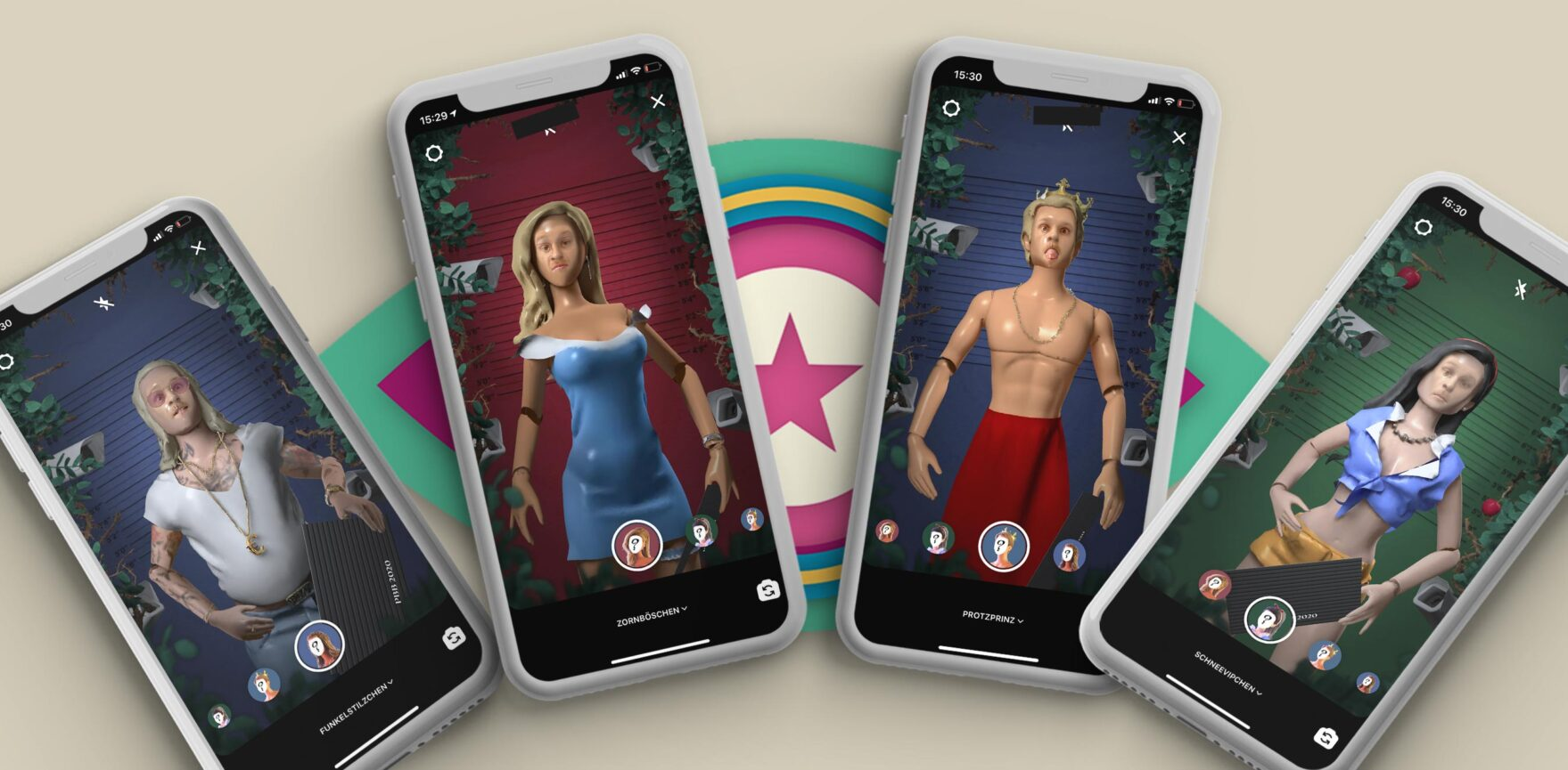 Promi Big Brother Facefilter Smartphone