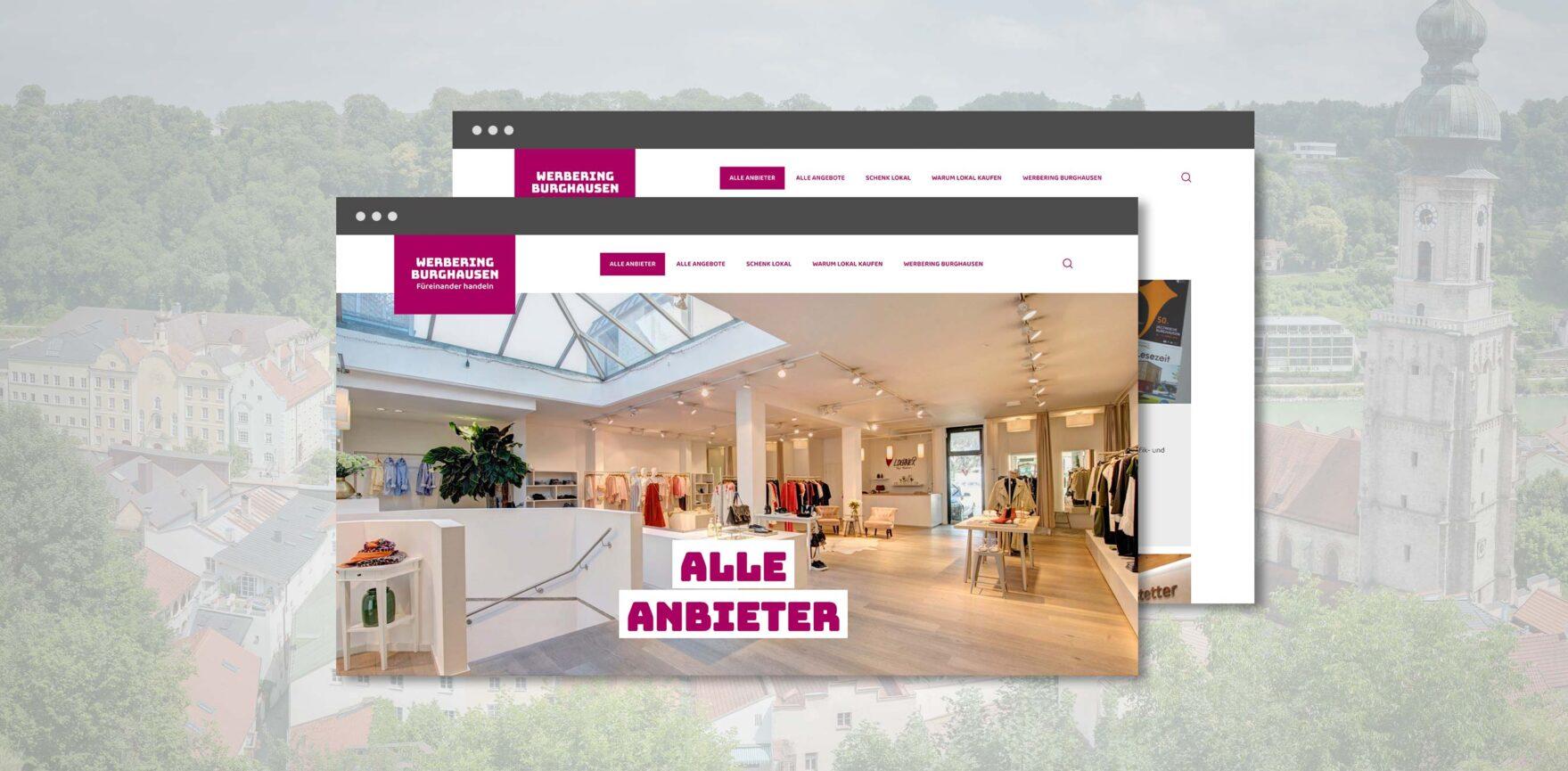 Burghausen kauft lokal Alle Anbieter