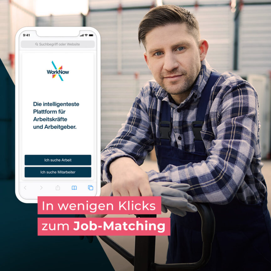 WorkNow Online Marketing Display Anzeige
