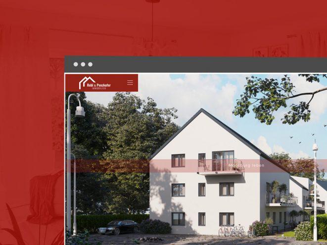 Rebl und Penzkofer Immobilien Startseite