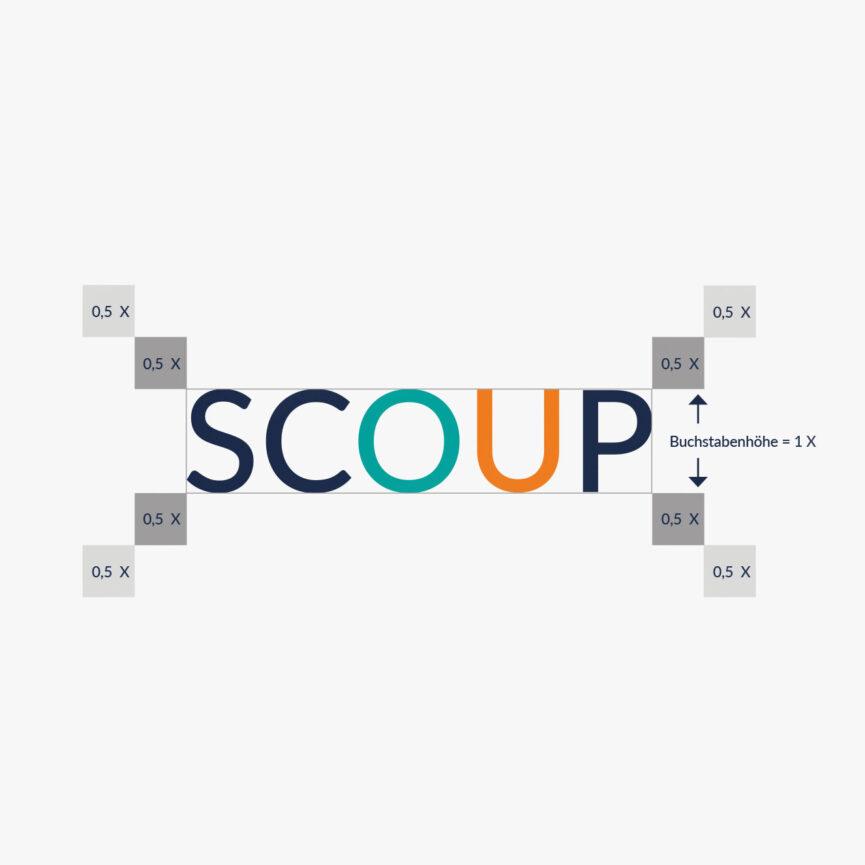 Scoup Logoentwicklung