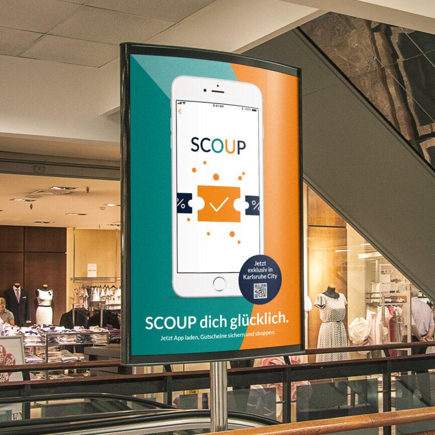 Scoup OOH Plakat